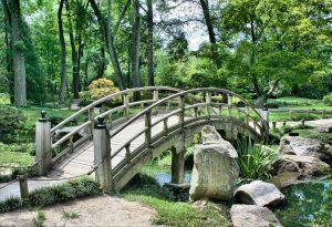 giardino rilassante