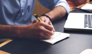scrivere le proprie idee