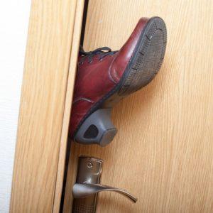 tecnica del piede nella porta